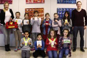 Neue Juniorhelfer-AG an der Grundschule Happing gegründet